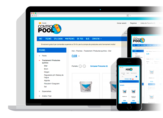 Piscines CONTROL POOL - Tenda online de productes